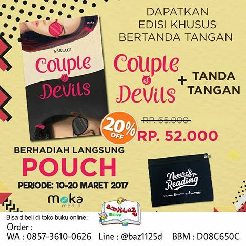 COUPLE OF DEVILS – ASRIACI Periode : 10 – 20 Maret 2017