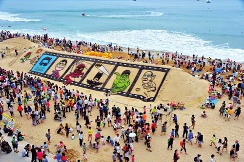 Lễ hội Cát Busan Haeundae   해운대 모래 축제