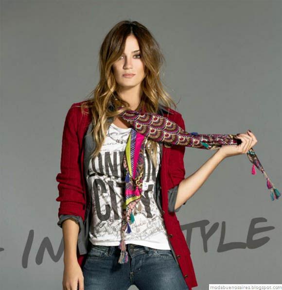Vov Jeans Moda otoño invierno 2012. Moda y Tendencias en Buenos Aires, Blog de moda Argentina.