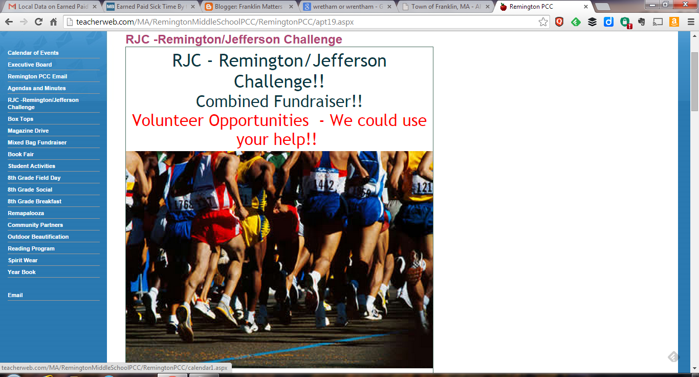Remington Jefferson Challenge