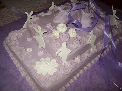 Michela Cake Designer: TORTA SCARPETTE DA BALLO --BALLET SHOES CAKE