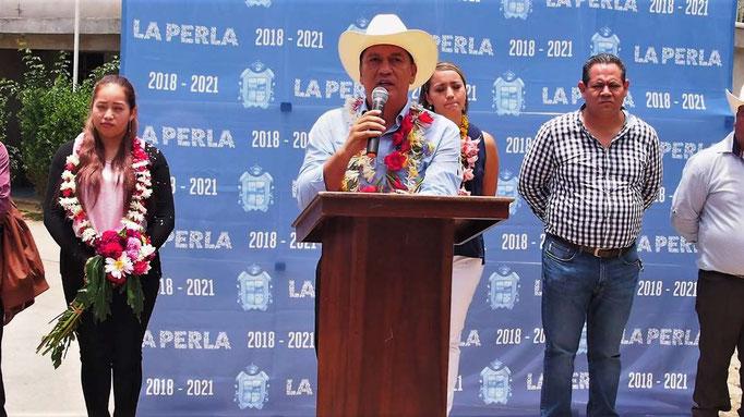 En la Perla comunidades ya no están en penumbras.