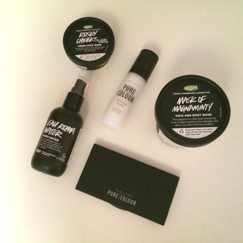 New Products Lush and Newlook Pure