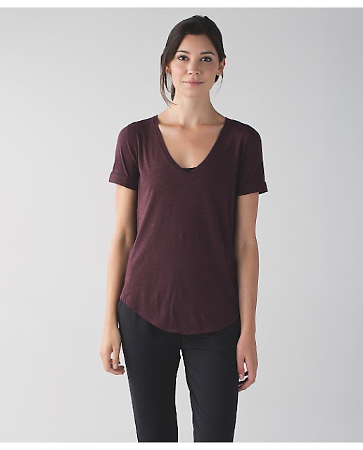 lululemon bordeaux-love-tee