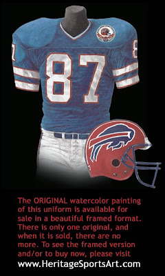 Buffalo Bills 1984 uniform