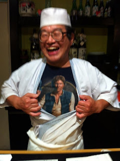 crazy sushi chef