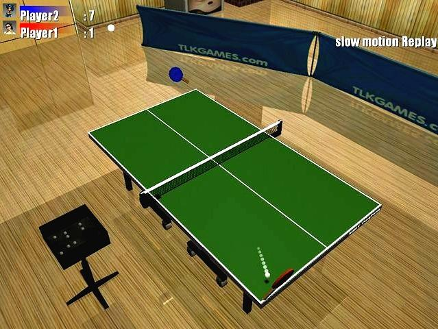 لعبة تنس الطاولة 3DRT PingPong