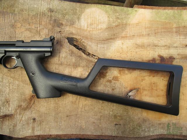 Crosman 1322 Air Pistol - Removable Stock 3