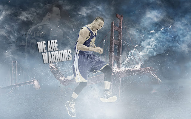 Stephen Curry We Are Warriors NBA United States HD Desktop Wallpaper