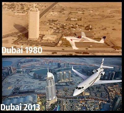 Duabi 1980 vs 2013