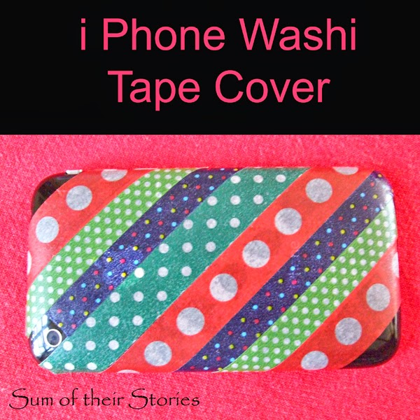Washi Tape i phone cover