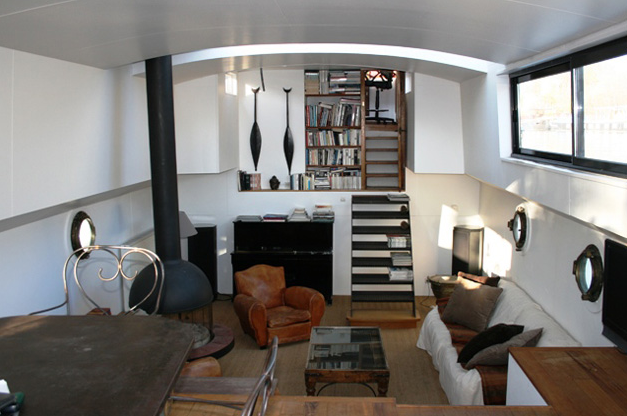 Houseboat Interiors on Tiny House On S Construction