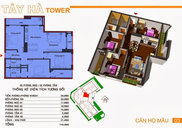 Chung Cư Tây Hà Tower, chung cu tay ha tower, 08
