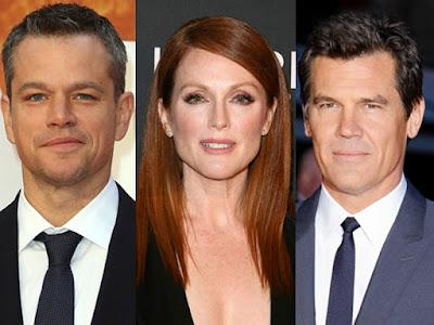Damon, Moore y Brolin en conversaciones para protagonizar 'Suburbicon', de George Clooney