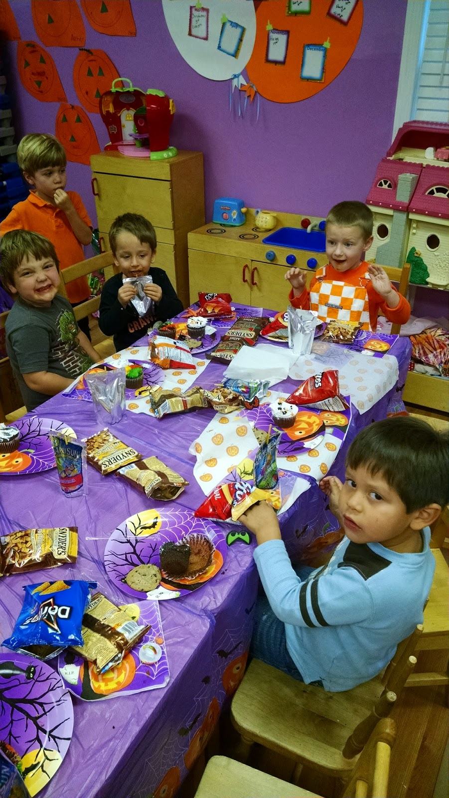 Pumpkin Party preschool
