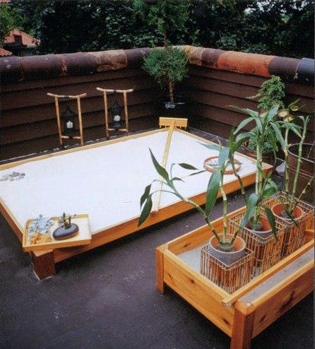 foto 5 jardin minimalista zen con piedras terraza