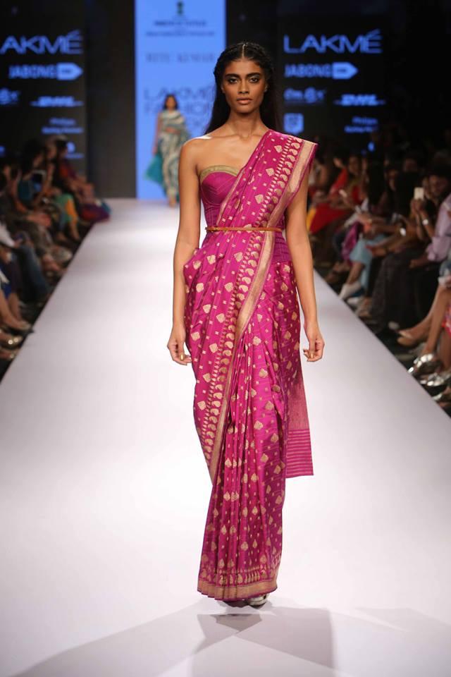 Ritu Kumar Lakmé Fashion week a/w 2015