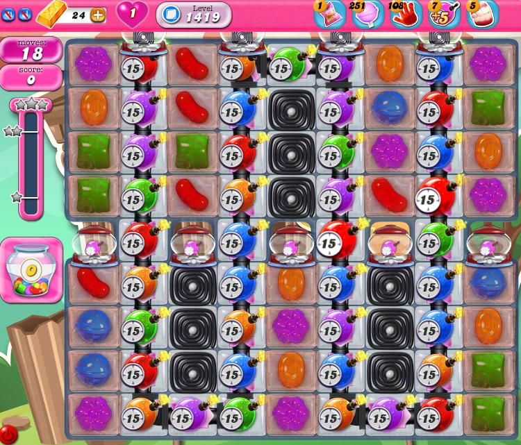 Candy Crush Saga 1419