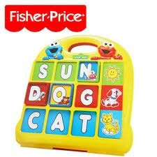 Fisher Price Sesame Street ABC Desk