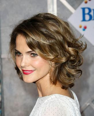 Medium Length Curly Hair Photos