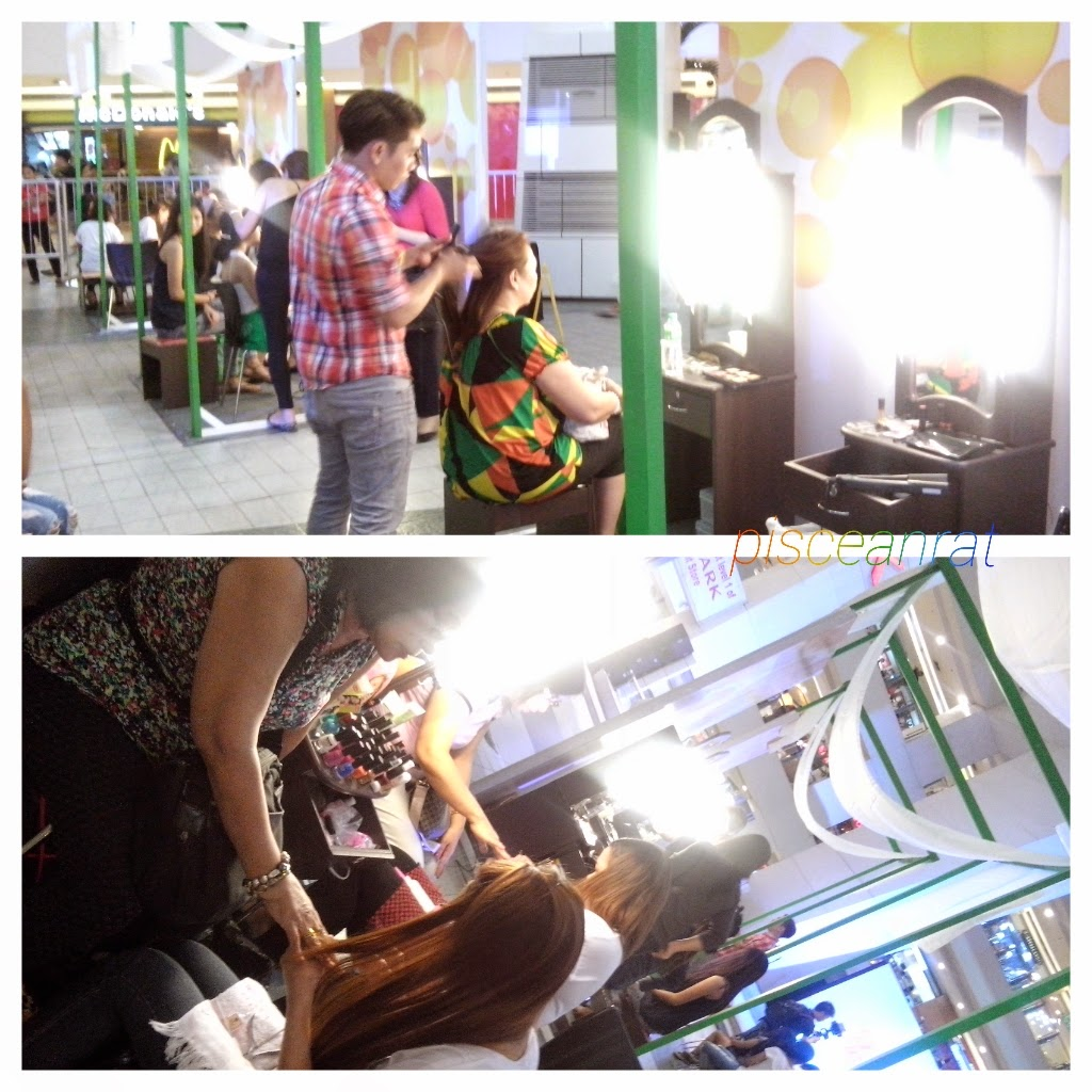 makeover, renew, pureform, pure and pampered, trinoma, sofia andres, kathleen hermosa, pauleen luna,