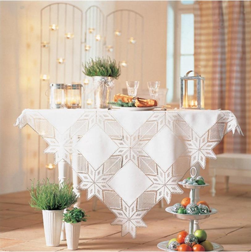 toalha natal mercer 1 Decoração de Natal: Decoração da Mesa de jantar