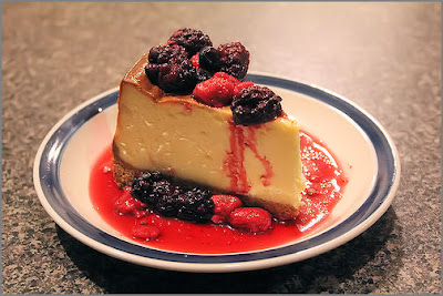Kraft's 3-Step Low-Fat Berry Cheesecake