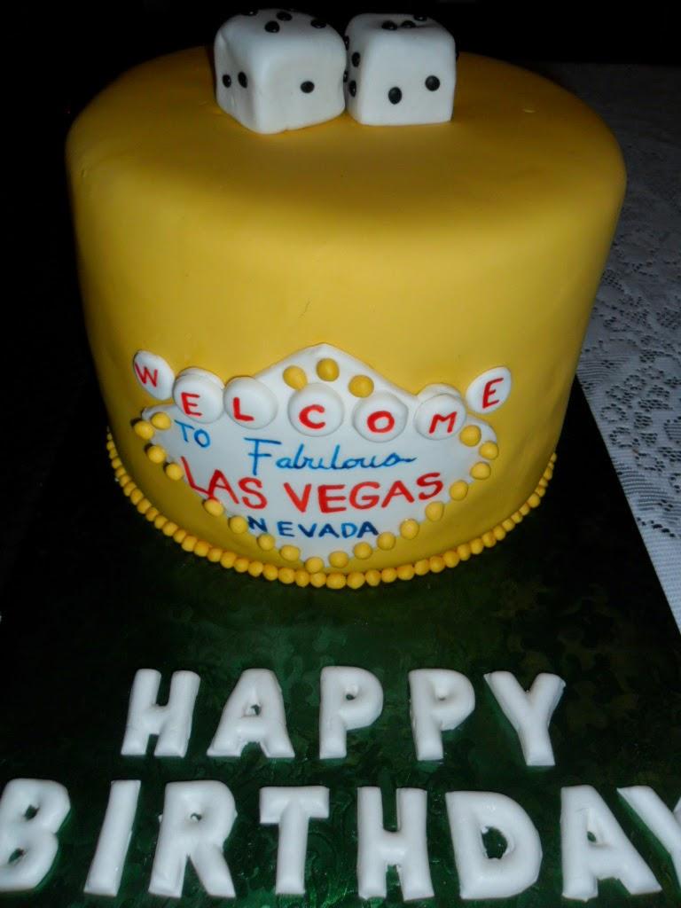 Larry the Cake Guy: Vegas Themed Birthday Cake