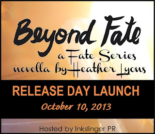 Release Day Launch: Beyond Fate by Heather Lyons