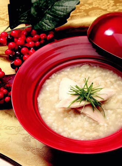 Acanthopanax senticossus chicken porridge