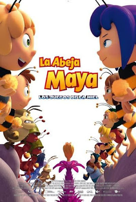 Maya The Bee The Honey Games 2017 DVD R2 PAL Spanish