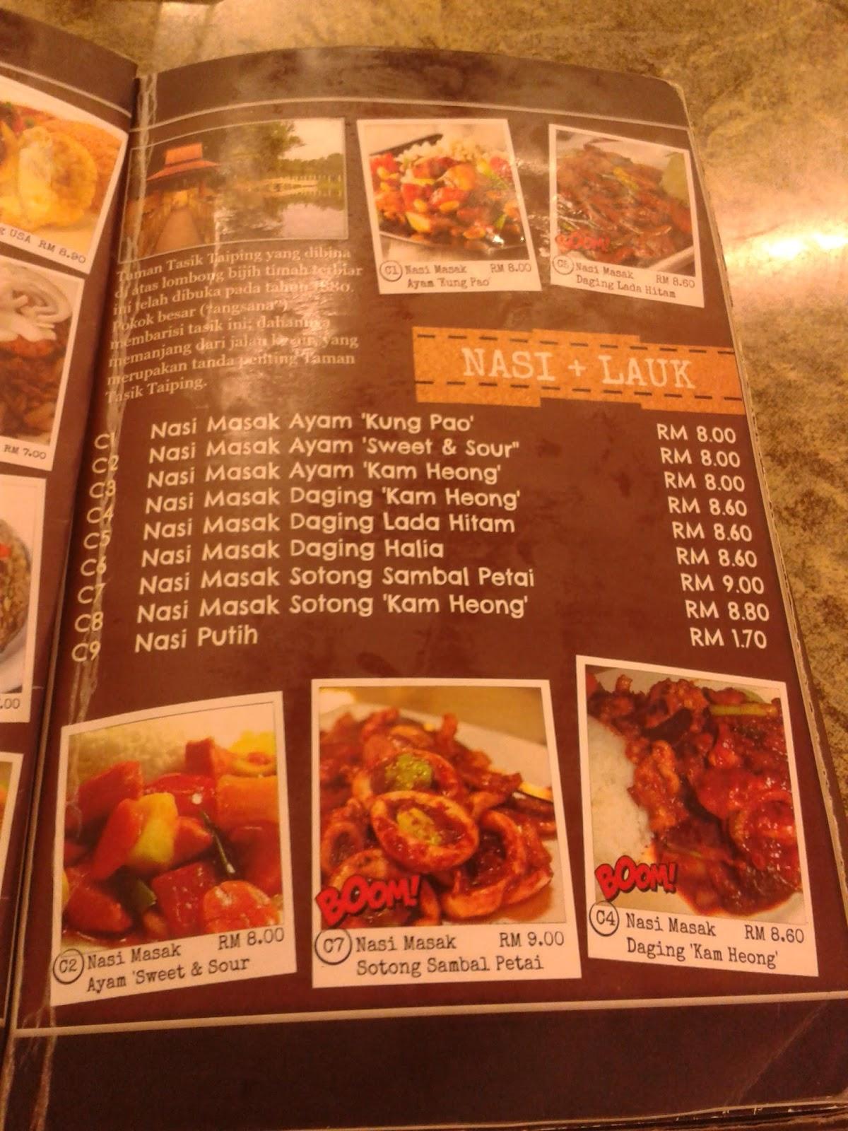 Ina 39 s memories and memoirs dinner tepeng food centre for Food bar kota damansara
