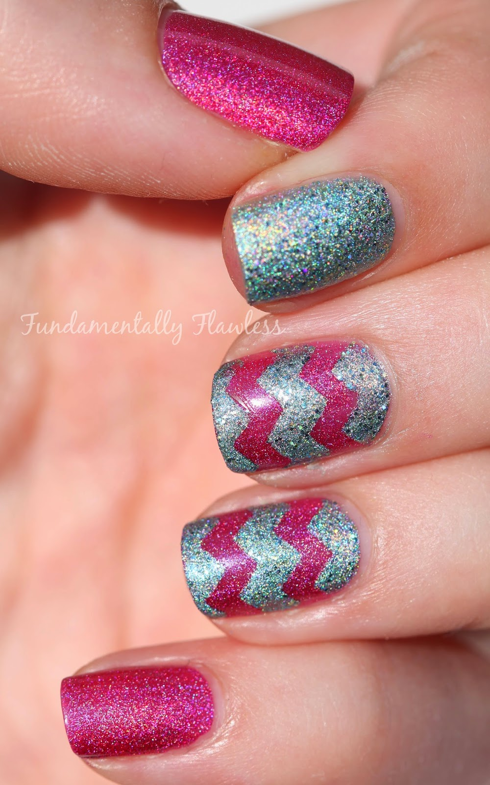 Tami Beauty Nail Polish Chevron Nail Art