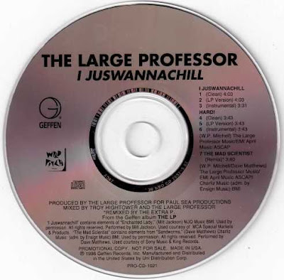Large Professor – IJUSWANNACHILL (Promo CDS) (1996) (320 kbps)
