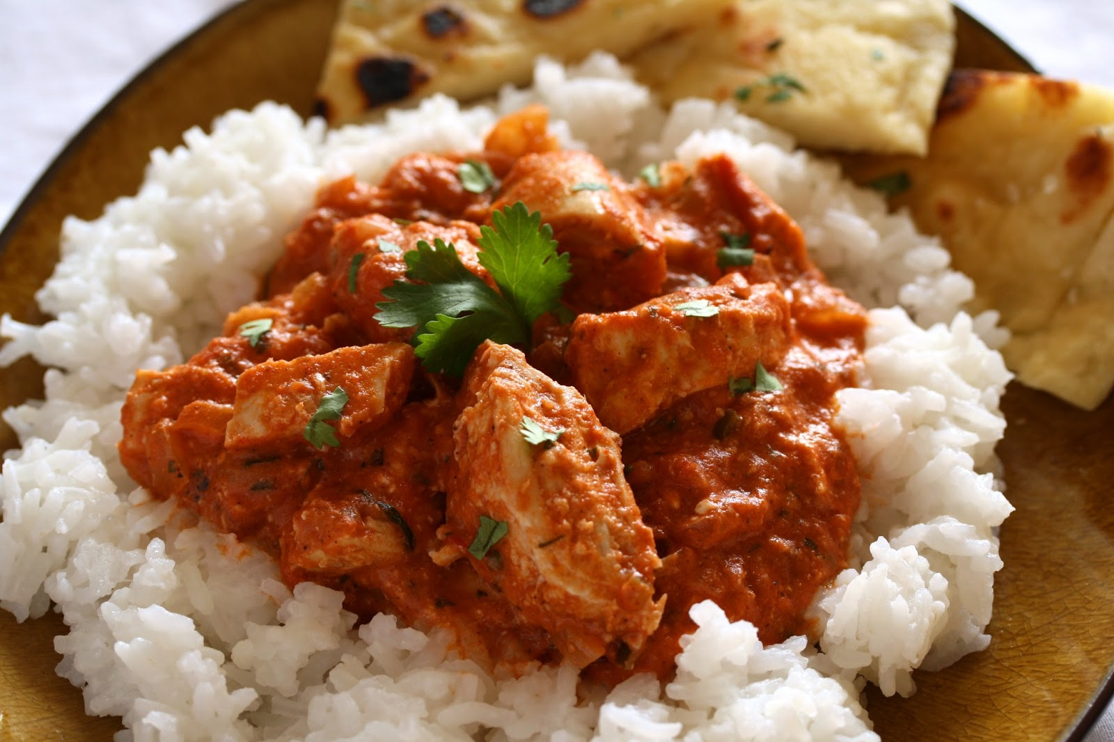 Chicken Tikka Masala - Saving Room for Dessert