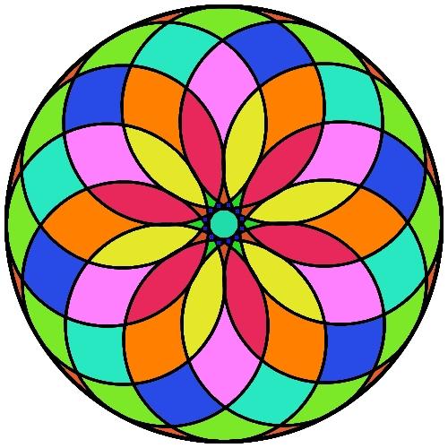 Sonrisas de Colores: Mandalas para niños y niñas