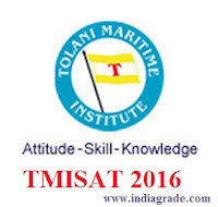 TMISAT 2016 Application Form