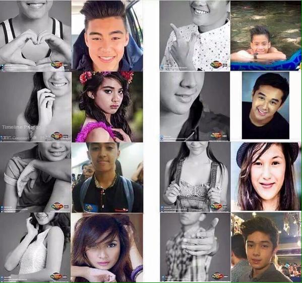 Alleged housemates of PBB as revealed by some netizens