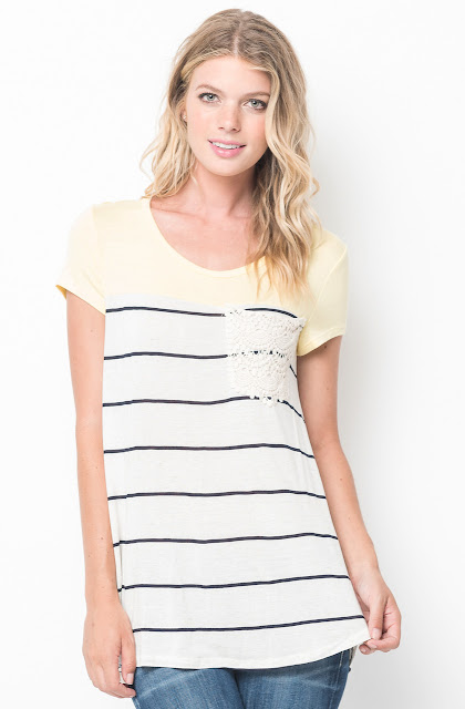striped tee shirt
