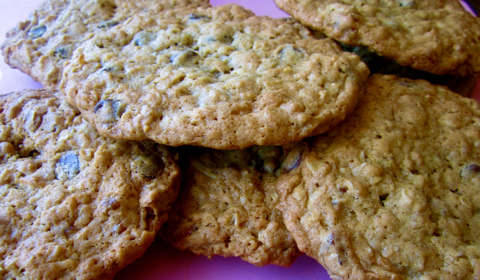 ... plain chocolate chip cookies when you can make Cowboy Cookies instead