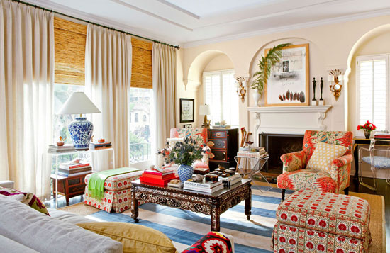 Mix And Chic Home Tour A Fabulously Eclectic California