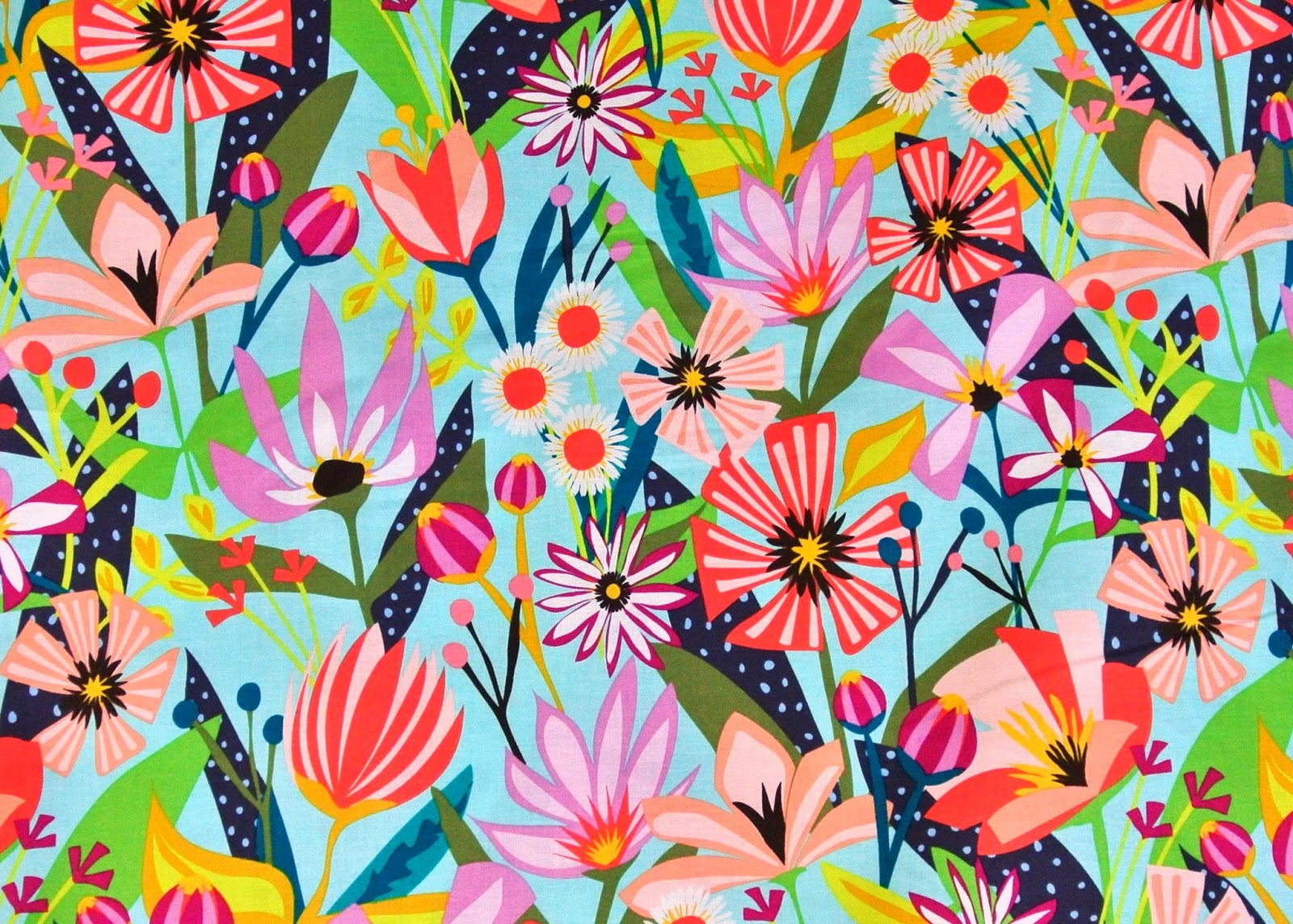 Bright Floral Prints