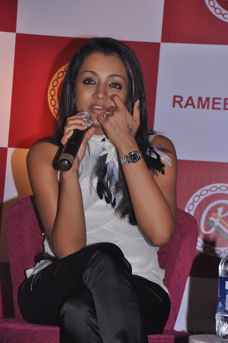trisha new @ ramee mall launch unseen pics