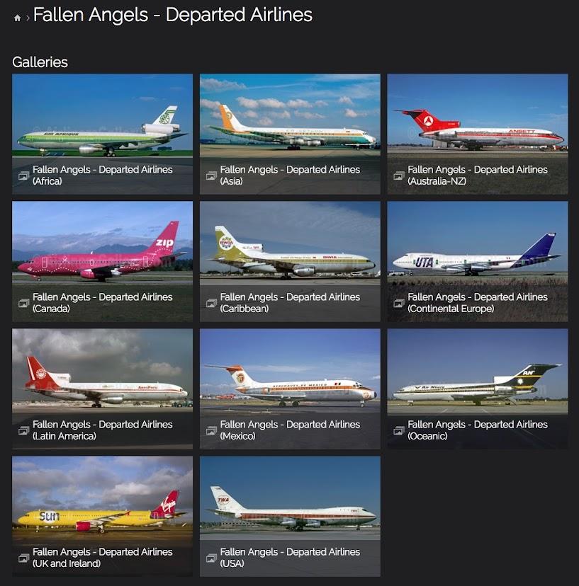 Fallen Angels - Departed Airlines