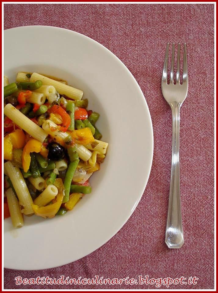 pasta con verdure estive