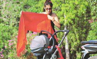 Κατερινά Παπουτσάκη,πρώτη έξοδος,νεογέννητο,γιος,gossip