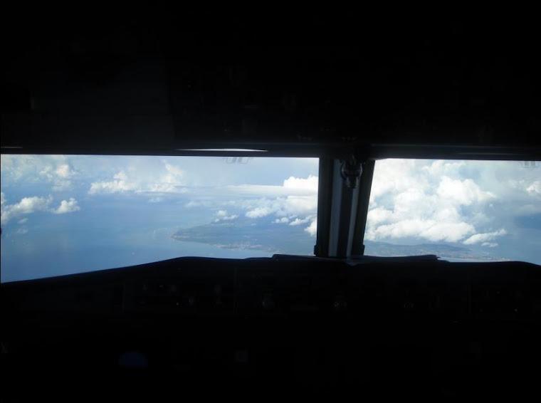 Approach landing Salvador