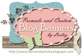 My blog banner was created by Lesley