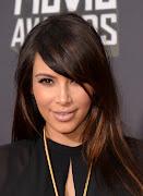 Who: Kim Kardashian. What: 2013 MTV Movie Awards. Hair: Chris McMillan
