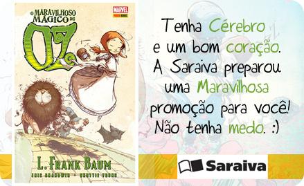 Promoção O Maravilhoso Mágico de OZ - Saraiva